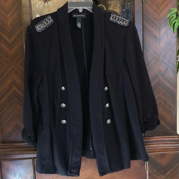INC International Concepts Jackets & Blazers - INC Military Inspired Glammy Jacket